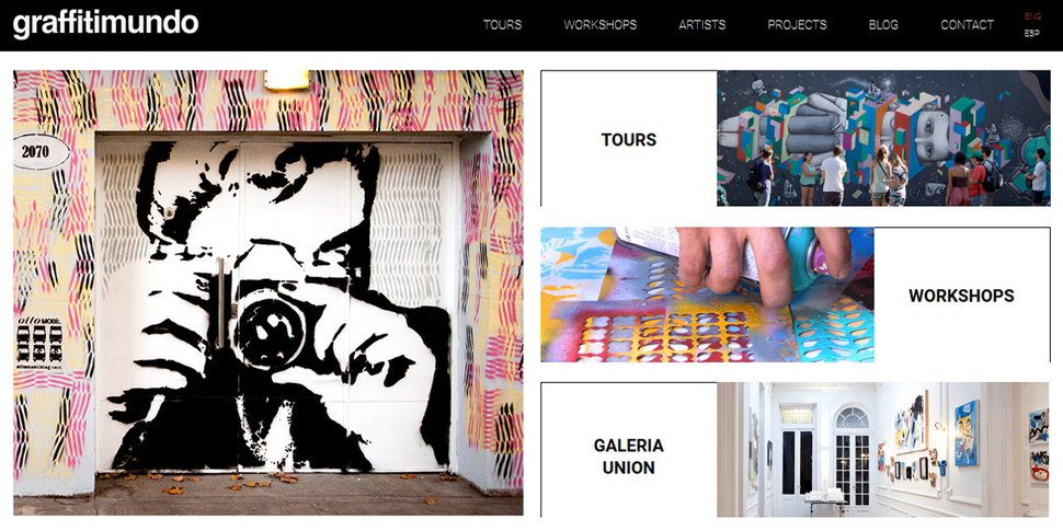site Graffitimundo.com
