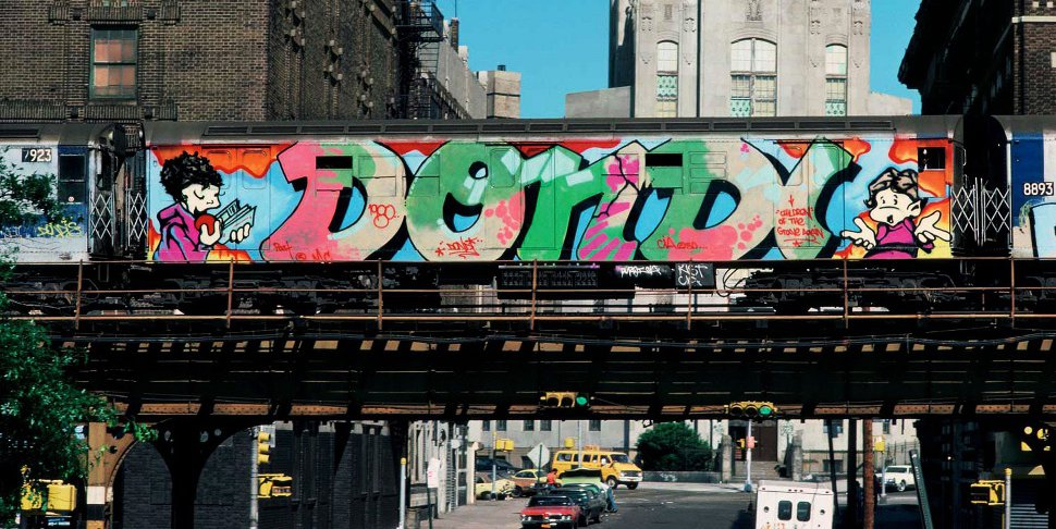 Style Wars (Tony Silver) - train peint par DONDI