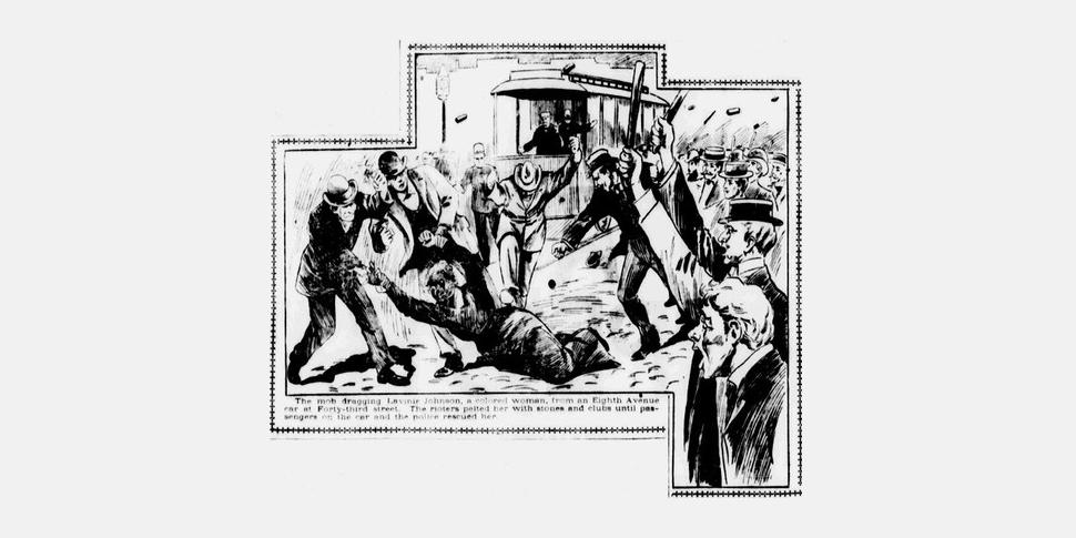 The Haymarket Riot - gravure ancienne.jpg