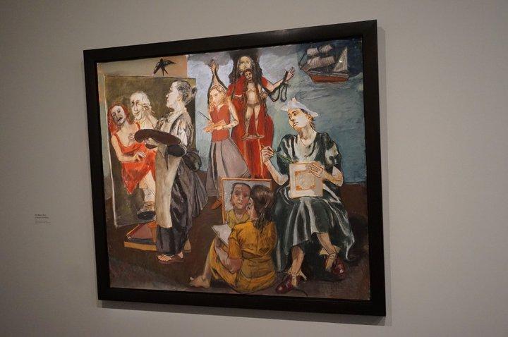The Balzac Story - (c) Paula Rego / Musée de l'Orangerie