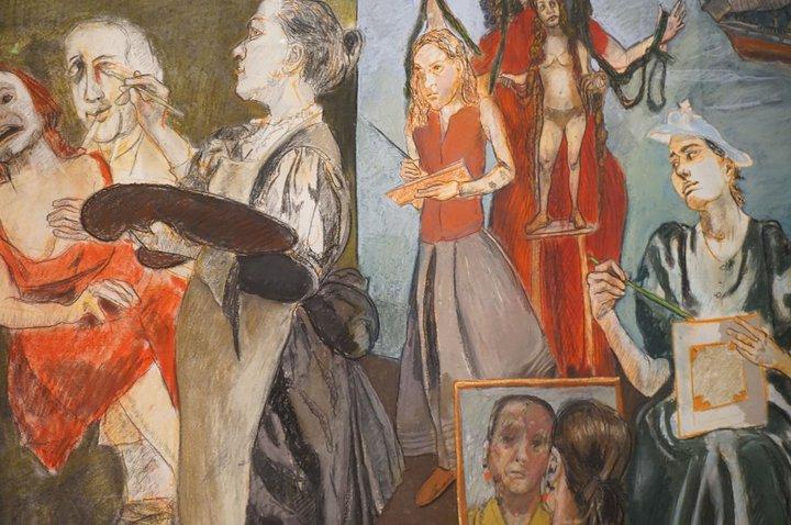 The Balzac Story (détail) - (c) Paula Rego / Musée de l'Orangerie