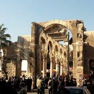 Le temple de Jupiter à Damas