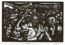 The March, 1986- linocut by Norman Kaplan.jpg