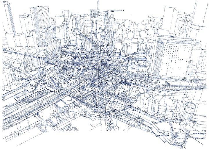 Tomoyuki Tanaka - Tokyo Train Station 1
