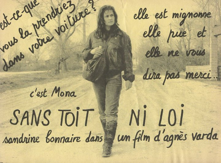 """Tract - """"Sans toit ni loi"""" d'Agnès Varda"""