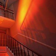 "exposition ""Us"" - Myriam Hornard, Escalier de service"