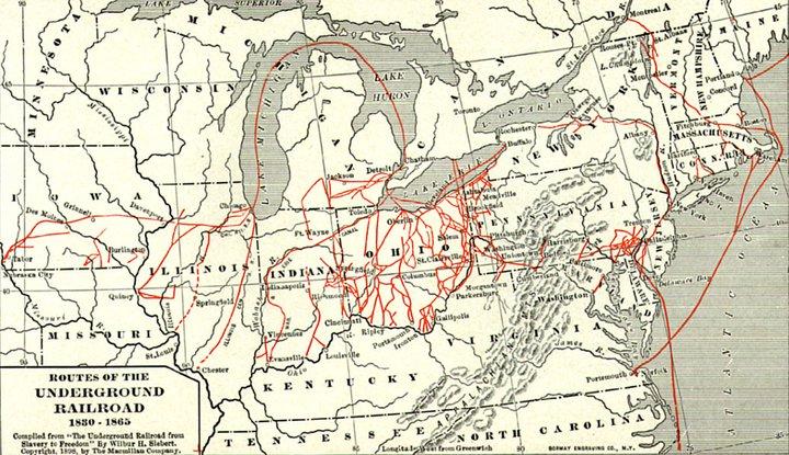 Underground Railroad maps - Wikimedia