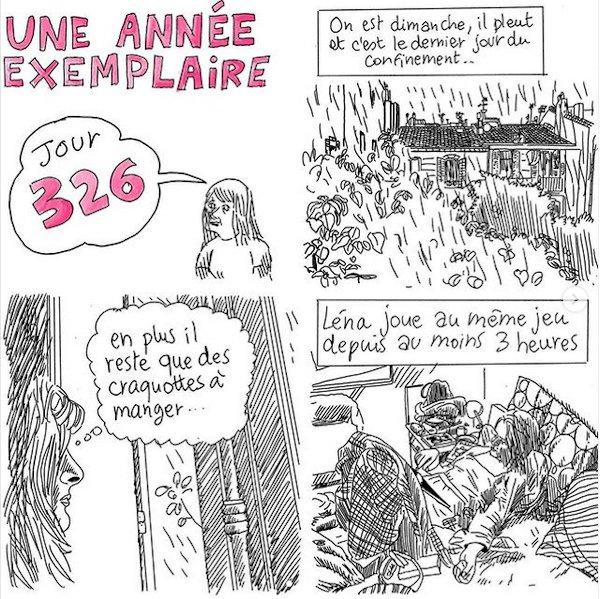 """""""Une année exemplaire"""" - (c) Instagram Lisa Mandel"""