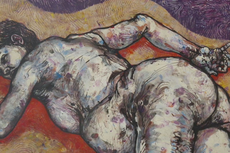Vandycke, Dans les sables du lit.jpg