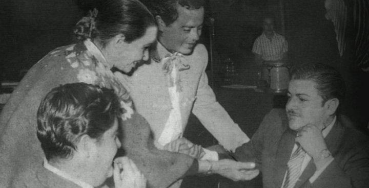 Chavela Vargas et José Alfredo Jimenez
