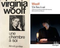 Virgina Woolf deux couvertures
