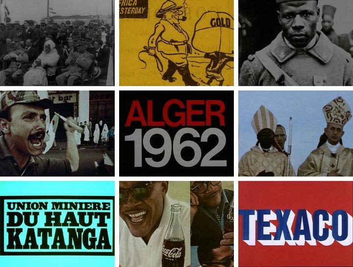 William Klein - Festival panafricain - montage