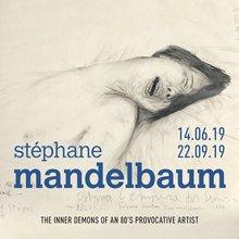 affiche exposition Stéphane Mandelbaum - Musée juif Bruxelles