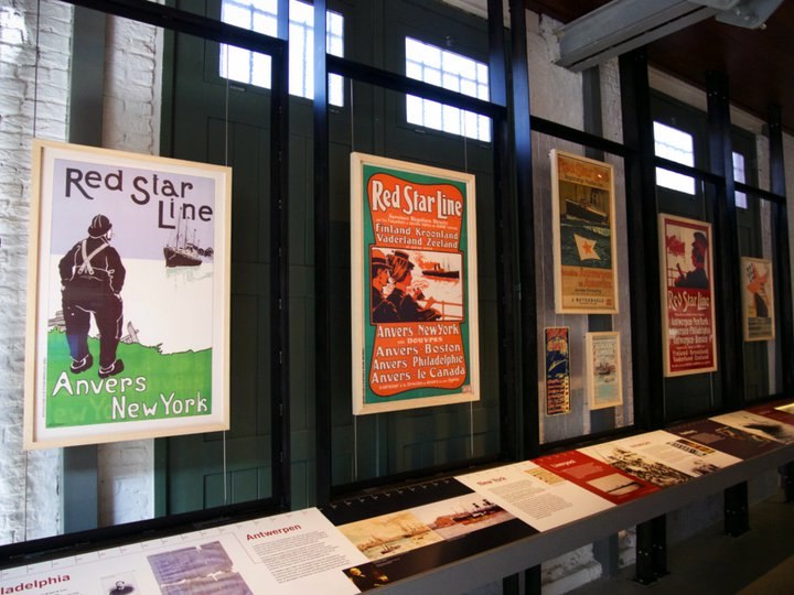Musée Red Star Line - anciennes affiches