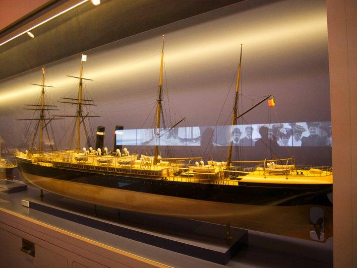 Musée Red Star Line - un paquebot