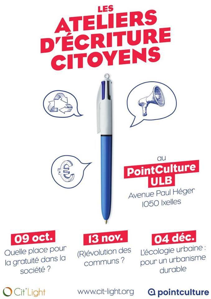 atelier d'écriture citoyen