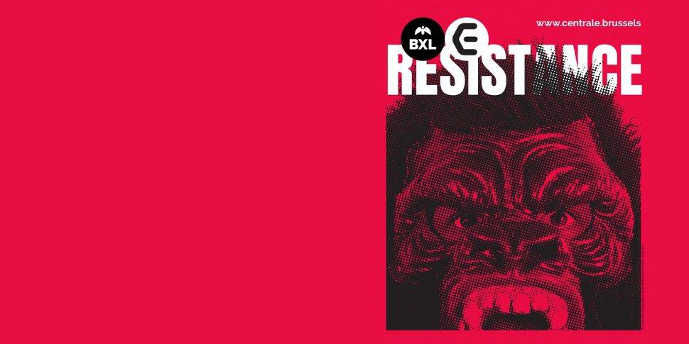 bannière expo Resistance La Centrale