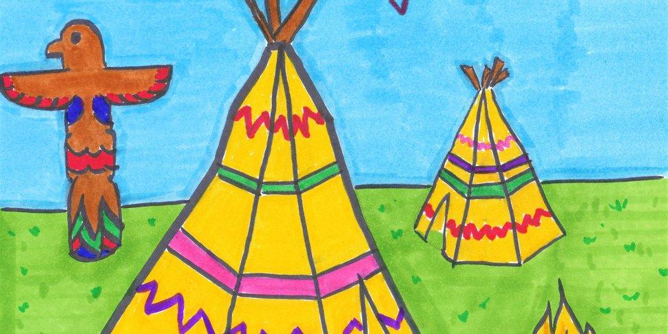 brunch art amérindien