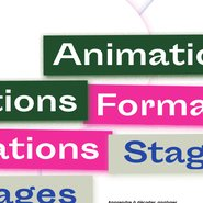 Couverture brochure animation