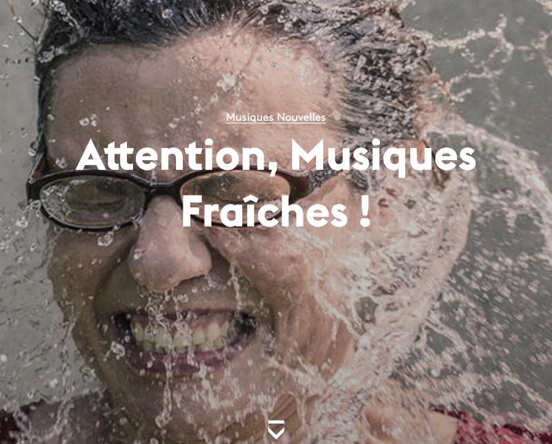 """capture d'écran """"Attention, musiques fraîches"""" - Mars - Mons, arts de la scène"""