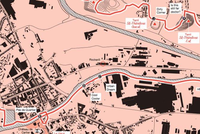 carte de la Boucle noire - cartographie Harrisson et Station Mir - (c) chemindesterrils - L'Eden