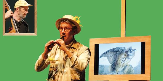 « Drôles d'oiseaux » Alain Delval et Pierre Boigelot. Spectacle enfants