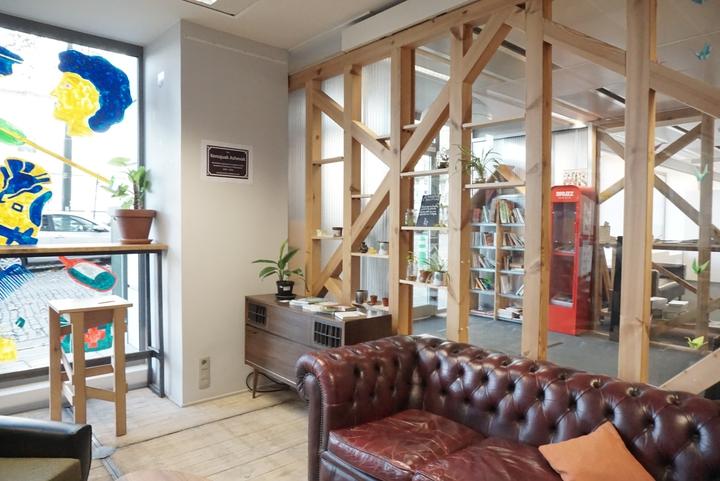photo PCB le canapé du café et hall d'entrée
