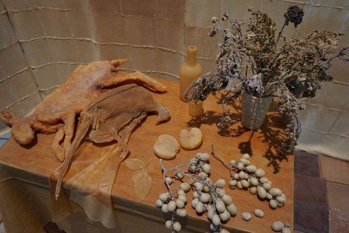 "expo ""Nature morte, nature vivante"" - oeuvre d'Eline Willemarck"