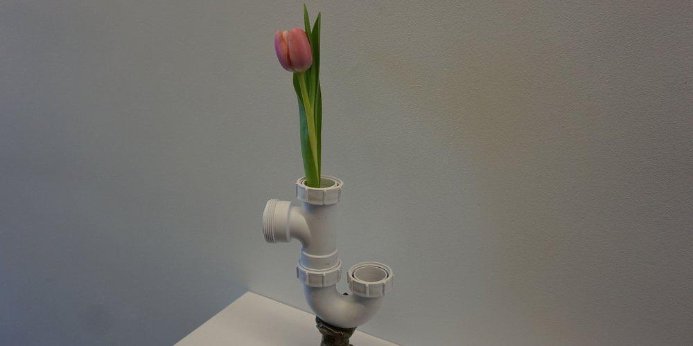 exposition Où va l'esprit - galerie Et´é 78 - oeuvre Fat Tulip de Matthew Smith