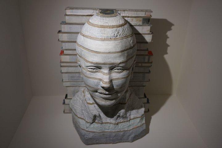 """exposition Memento BAM, Mons - livre Li Hongbo, """"Absorption n°4"""""""