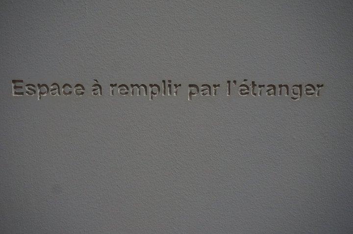exposition Persona grata - Musée de l'histoire de la migration - oeuvre de Latifa Eckakhch