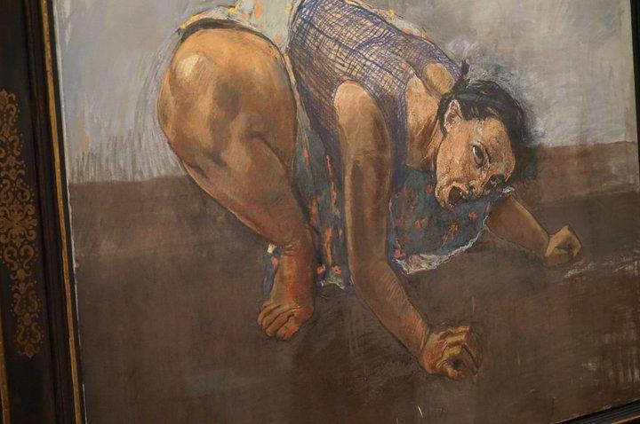 peinture (détail) - (c) Paula Rego / Musée de l'Orangerie