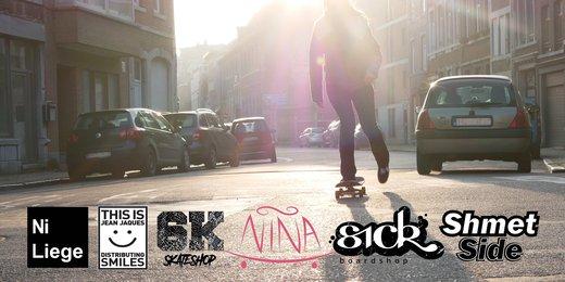 Girl Skate Liège Tour 2018