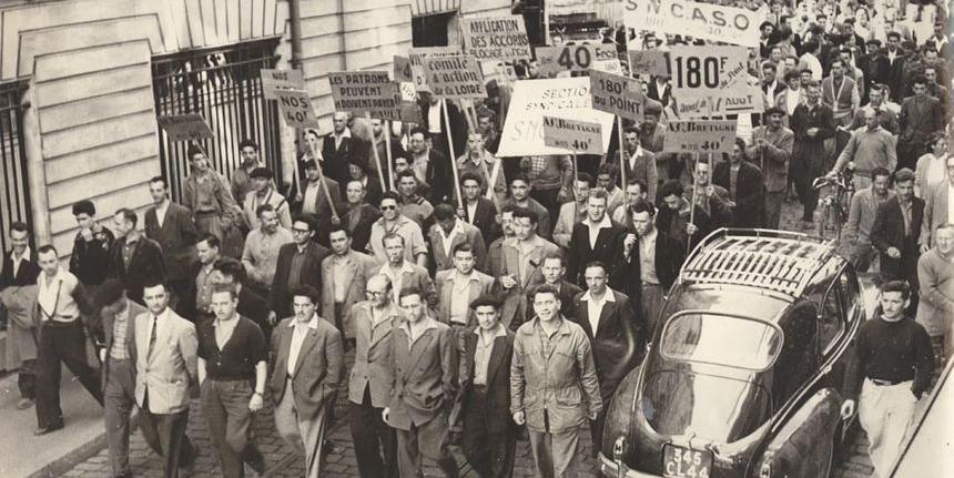 Grèves de Nantes en 1955
