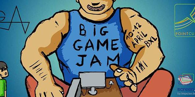 The BIG Game Jam - 48h pour créer un jeu vidéo c'est possible.
