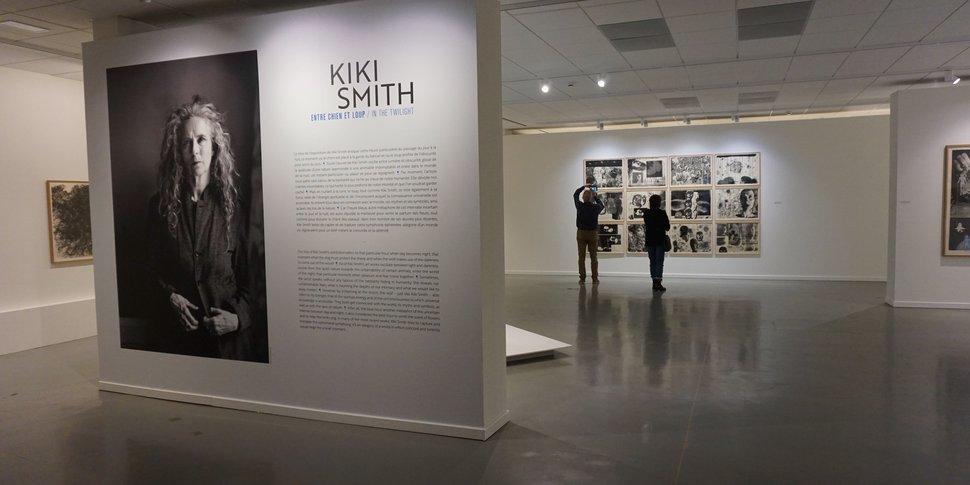 Kiki Smith au Centre de gravure - vue d'ensemble de l'exposition