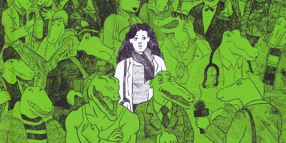 Les crocodiles sont toujours là - Juliette Boutant et Thomas Mathieu