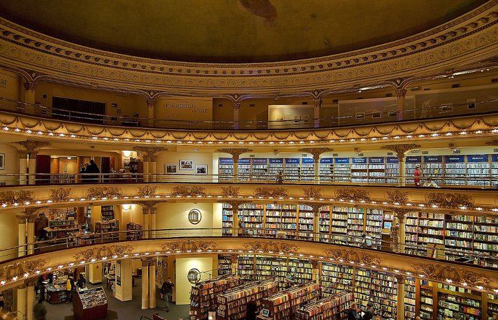la librairie Al Ateneo Grand Splendid - Buenos Aires - wikimedia