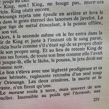 page ouverte du Lion de Joseph Kessel