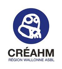 logo Creahm Region wallonne