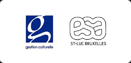 logos master gestion culturelle ULB et ESA Saint Luc.png