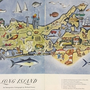 """Long Island: an interpretive cartograph"" - Richard Scarry, 1947"
