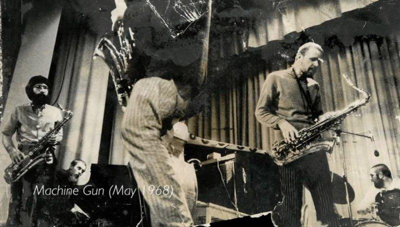 Peter Brötzmann octet - Machine Gun - en mai 1968