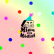 Miam des Médias a 2 ans, émission anniversaire | Miam des Médias (sur Radio Campus BXL 92.1)