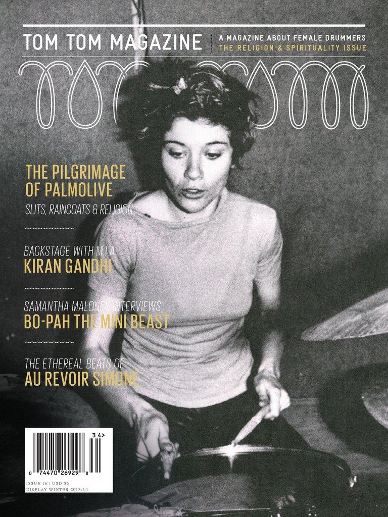 Tom Tom magazine - couverture Palmolive
