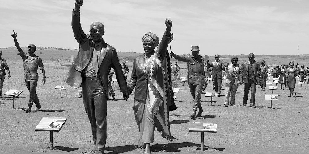 Nelson Mandela, The Long March to Freedom, Maropeng, South Africa