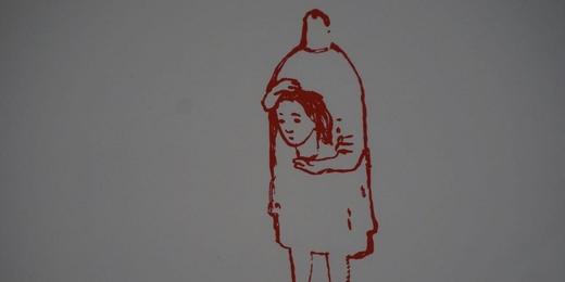 oeuvre de Francoise Pétrovitch - Centre de la gravure La Louviere 169