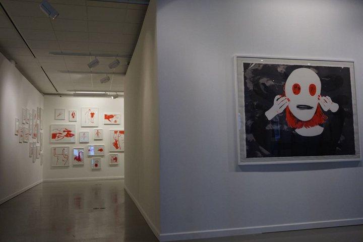 oeuvre de Francoise Pétrovitch - Centre de la gravure La Louviere 145