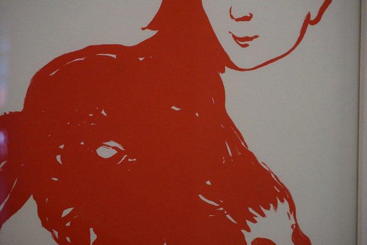oeuvre de Francoise Pétrovitch - Centre de la gravure La Louviere 178