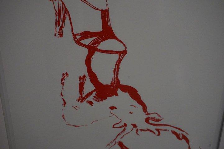 oeuvre de Francoise Pétrovitch - Centre de la gravure La Louviere 170